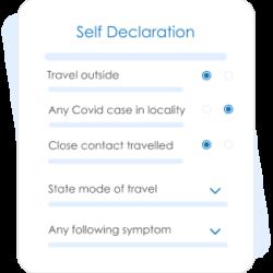 Self declaration